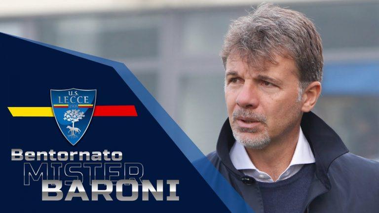 Bentornato a Lecce mister Marco Baroni