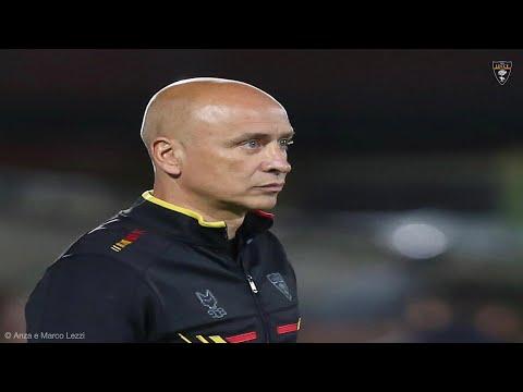 U.S. Lecce: Conferenza stampa di mister Corini vigilia di Lecce – Venezia Playoff