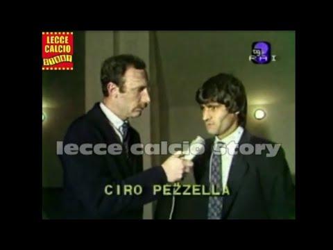 STORICA ED ESCLUSIVA INTERVISTA A CIRO PEZZELLA, INDIMENTICATO CALCIATORE DEL LECCE
