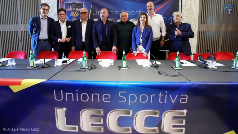 U.S. Lecce: Conferenza stampa della società