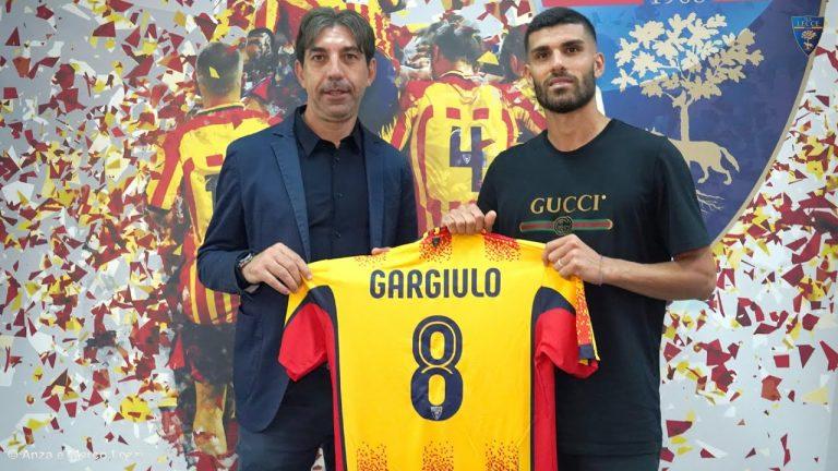 U.S. Lecce: Conferenza stampa di presentazione di Gargiulo