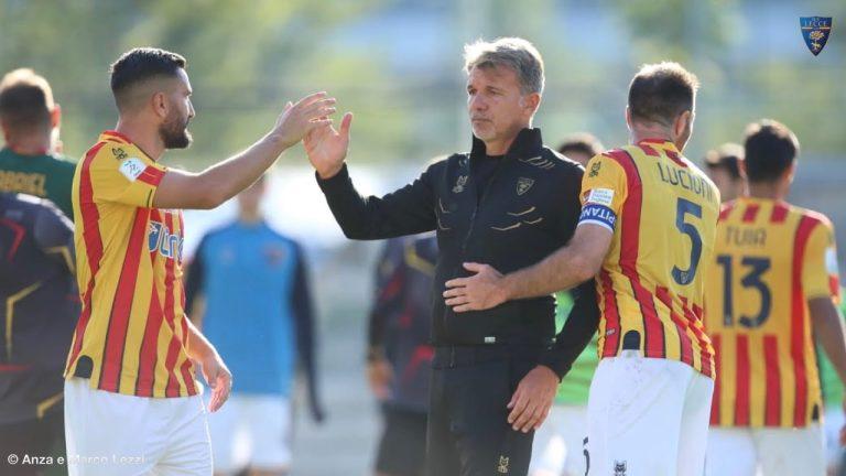 U.S. Lecce: Conferenza stampa di mister Baroni post Ascoli 1 – Lecce 1